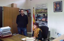 La delegada del Govern de la Generalitat a la Catalunya Central visita Calonge de Segarra
