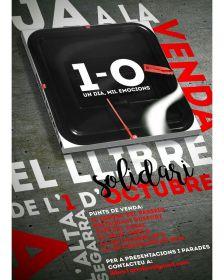 """Punt de venda del llibre """"1-O: Un dia, mil emocions"""""""