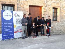 Calonge de Segarra inaugura camins arranjats, les obres de reforma de la Casa del Mestre i la posada en marxa del projecte europeu TESSe2b