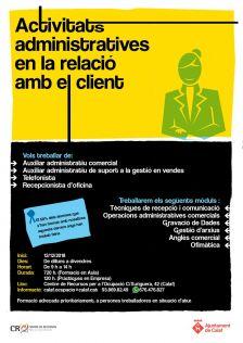 Curs d'activitats administratives en la relació amb el client