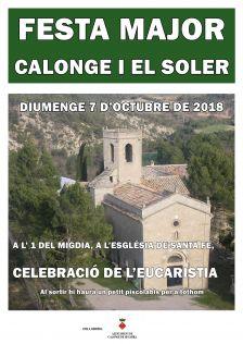 Cartell Festa Major de Calonge i del Soler