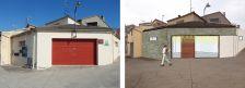 """Abans i després de la façana local """"El Forn"""""""