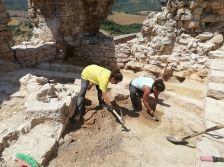 Intervenció arqueològica al castell de Mirambell